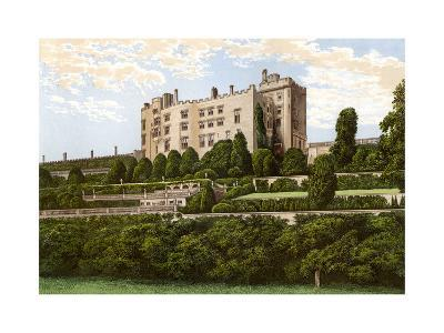 Powis Castle, Powys, Wales, Home of the Earl of Powys, C1880-Benjamin Fawcett-Giclee Print