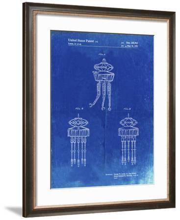 PP1059-Faded Blueprint Star Wars Viper Prode Droid Poster-Cole Borders-Framed Giclee Print