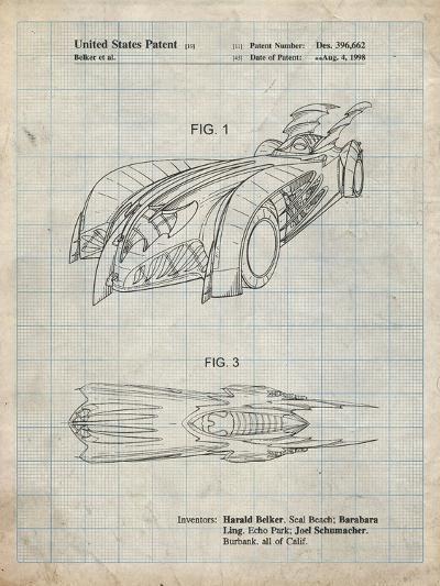 PP16 Antique Grid Parchment-Borders Cole-Giclee Print