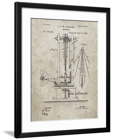 PP26 Sandstone-Borders Cole-Framed Giclee Print