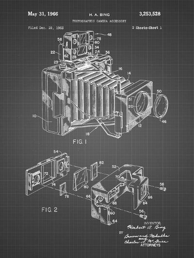 PP34 Black Grid-Borders Cole-Giclee Print