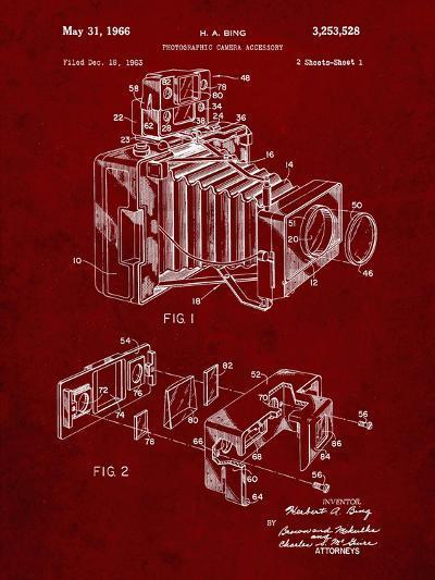 PP34 Burgundy-Borders Cole-Giclee Print