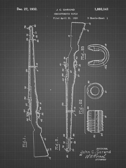PP35 Black Grid-Borders Cole-Giclee Print