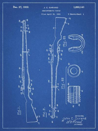 PP35 Blueprint-Borders Cole-Giclee Print