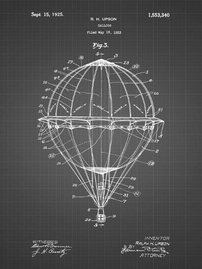 PP36 Black Grid-Borders Cole-Giclee Print
