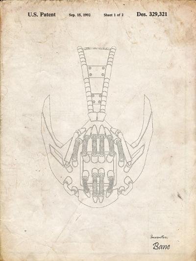 PP39 Vintage Parchment-Borders Cole-Giclee Print