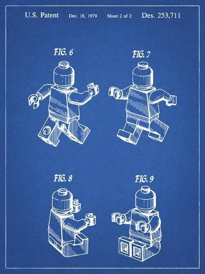 PP50 Blueprint-Borders Cole-Giclee Print