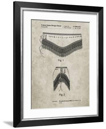 PP685-Sandstone Belly Dancing Belt Poster-Cole Borders-Framed Giclee Print
