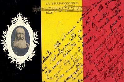 Pr?ge K?nig Leopold II Von Belgien, La Brabanconne--Giclee Print