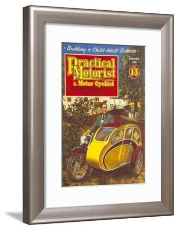 Practical Motorist and Motor Cyclist, Motorbikes Magazine, UK, 1956--Framed Giclee Print