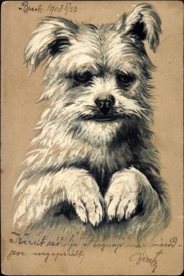 Präge Hund, Hund Auf Zwei Beinen--Giclee Print