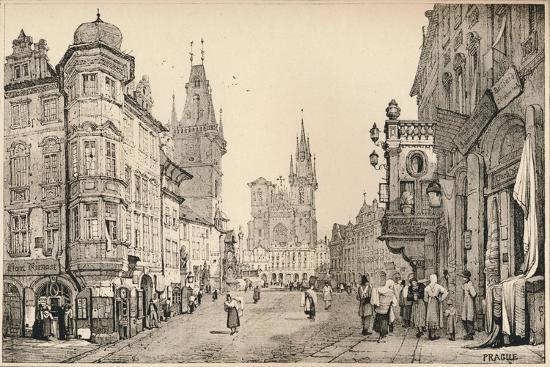 'Prague', c1820 (1915)-Samuel Prout-Giclee Print