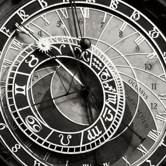 Prague Clock I-Jim Christensen-Photographic Print