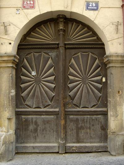 Prague Door VI-Jim Christensen-Photographic Print