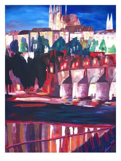 Prague - Hradschin With Charles Bridge-M Bleichner-Art Print