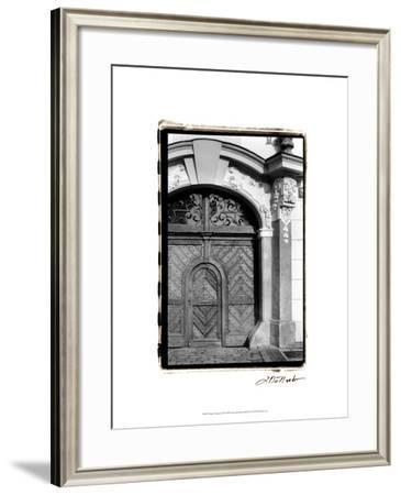 Prague Passageway III-Laura Denardo-Framed Art Print