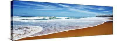 Praia Azul, Portugal-Frank Krahmer-Stretched Canvas Print
