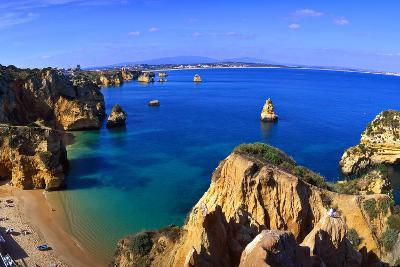 Praia Da Dona Ana, Algarve, Portugal-Hans Peter Merten-Photographic Print