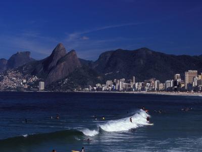 Praia De Ipanema, Rio De Janeiro, Brazil-Julie Bendlin-Photographic Print