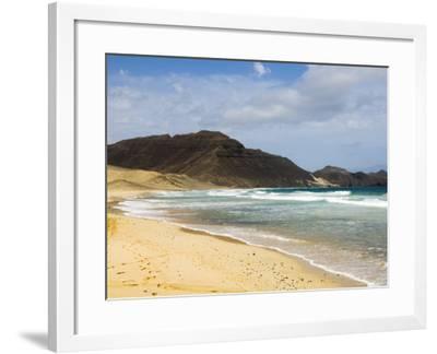 Praia Salamansa, Sao Vicente, Cape Verde Islands, Atlantic Ocean, Africa-Robert Harding-Framed Photographic Print