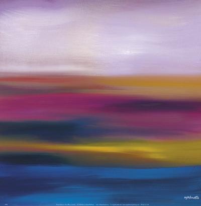 Prairie Abstract 10-Mary Johnston-Art Print