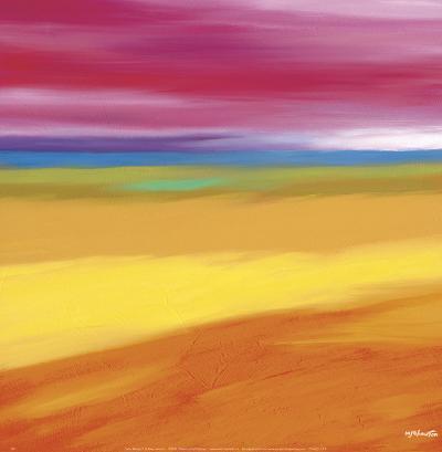 Prairie Abstract 1-Mary Johnston-Art Print