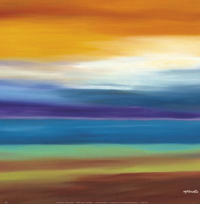 Prairie Abstract 3-Mary Johnston-Art Print