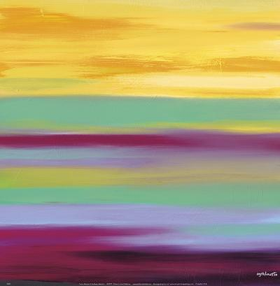 Prairie Abstract 6-Mary Johnston-Art Print