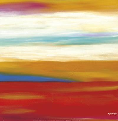 Prairie Abstract 9-Mary Johnston-Art Print