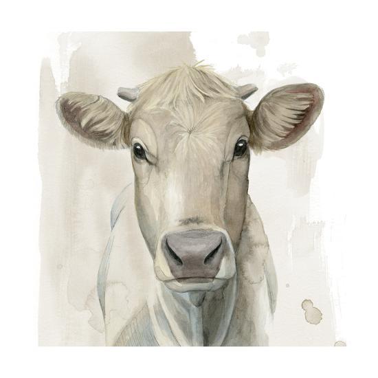 Prairie Bovine I-Grace Popp-Art Print