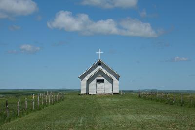 Prairie Church-Scottsanders-Photographic Print