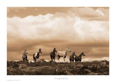 Prairie Song-Robert Dawson-Art Print