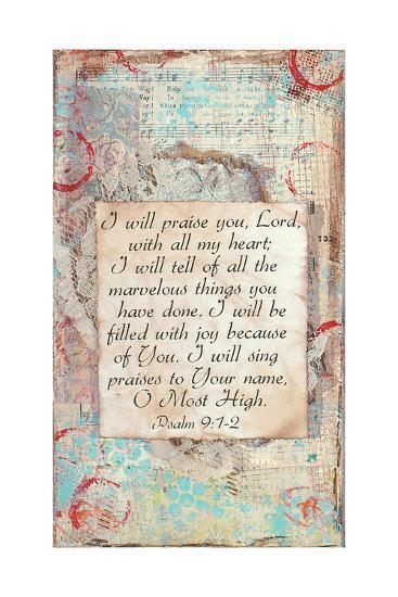 Praise-Cassandra Cushman-Art Print