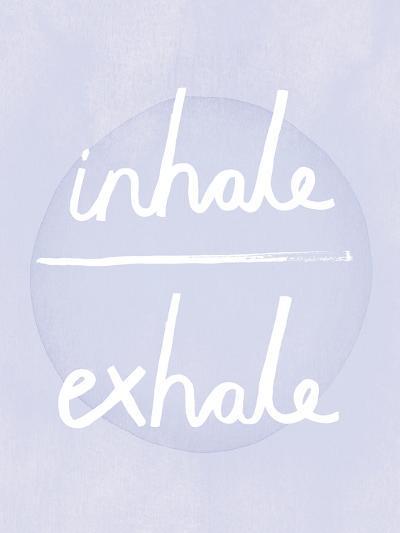 Prana - Inhale - Exhale-Sasha Blake-Art Print