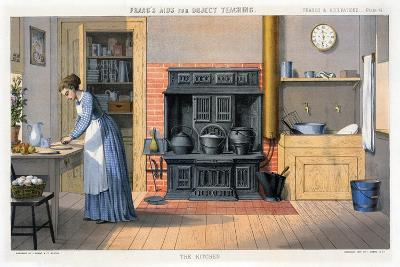 Prang's Aids for Object Teaching - the Kitchen, 1874--Giclee Print
