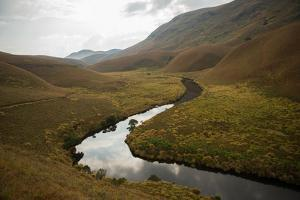 A River Flows Through a Valley by Prasenjeet Yadav