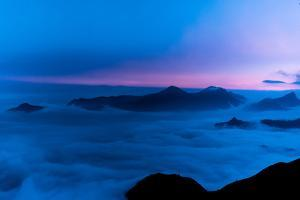 Sky Island Mountain Peaks Above the Clouds by Prasenjeet Yadav
