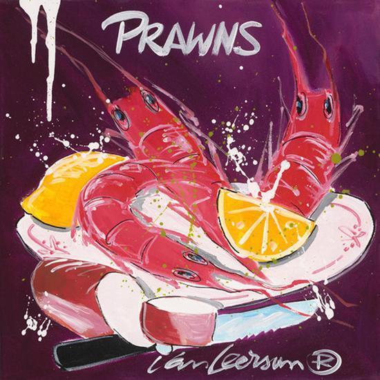 Prawns-El Van Leersum-Art Print