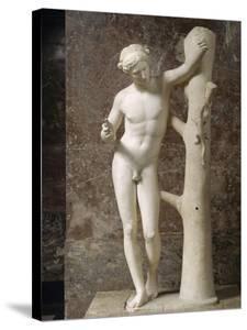 "Apollo Says ""Apollo Sauroctonus"" (The Killer Lizard) by Praxitèle"