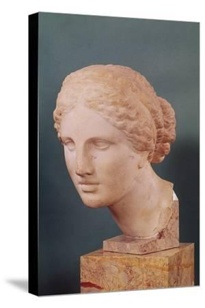 The Kauffmann Head, Head of Aphrodite, Copy of the Aphrodite of Cnidus by Praxiteles (Fl.375-40 BC)