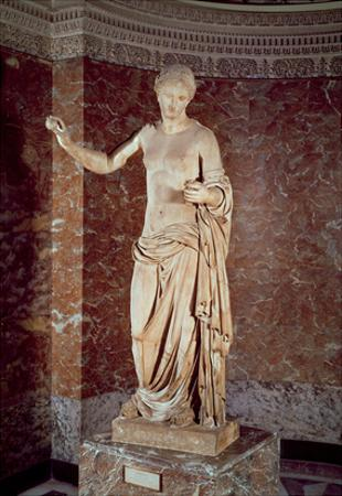 The Venus of Arles, Roman Copy of a Greek Original, C.30 Bc-14 Ad (Marble)