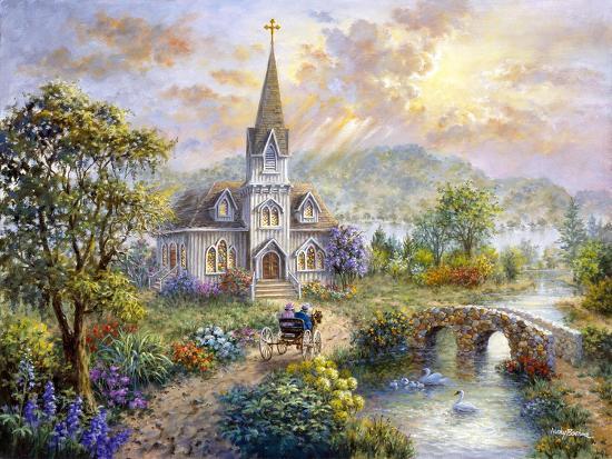 Pray for World Peace-Nicky Boehme-Giclee Print