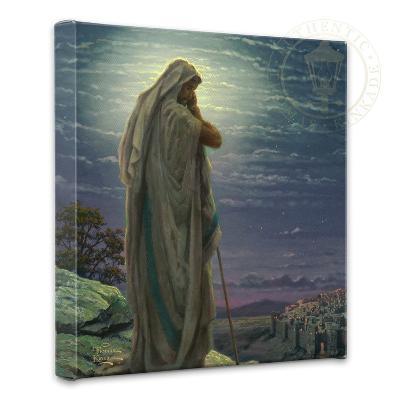 Prayer For Peace-Thomas Kinkade-Gallery Wrapped Canvas