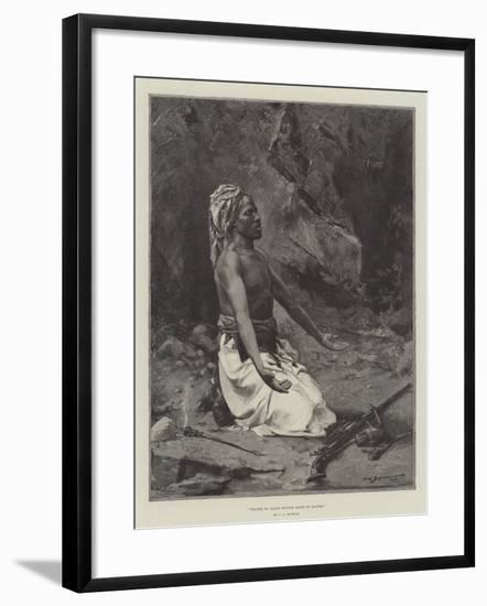 Prayer to Allah before Going to Battle-George L. Seymour-Framed Giclee Print