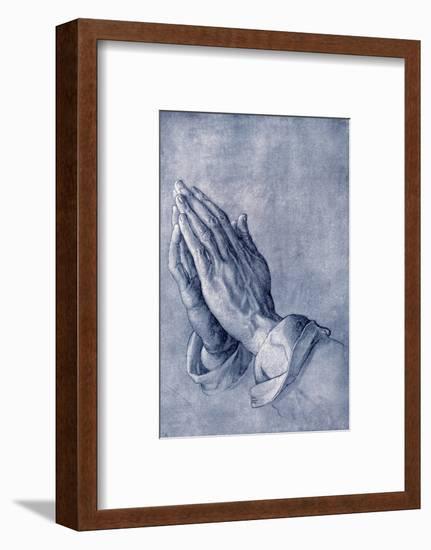 Praying Hands, Art by Durer-Sheila Terry-Framed Premium Giclee Print