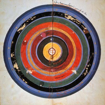 Pre-Copernican Universe-Johann Tolhopf-Giclee Print