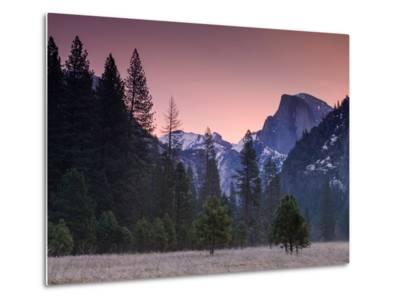 Pre Dawn at Half Dome, Yosemite Valley-Vincent James-Metal Print
