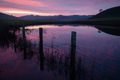 Pre Dawn in the Petaluma Hills, Sonoma County-Vincent James-Photographic Print