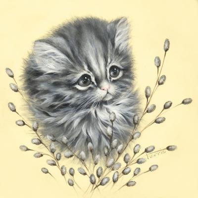 Precious Kitty-Peggy Harris-Giclee Print