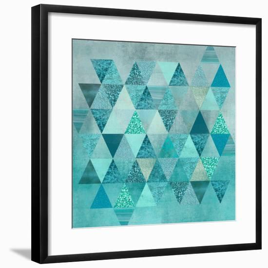 Precious Triangles-Lebens Art-Framed Art Print
